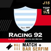 VOTRE PACK BAR SERFIM + RACING 92