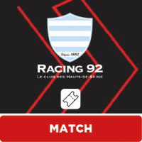 MATCH LOU RUGBY - RACING 92